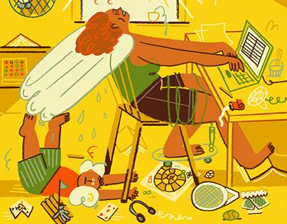 Summer holidays & Corona – For NYT Parenting