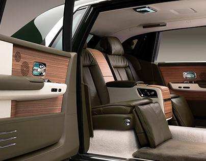 Rolls-Royce x Hermès - Phantom EWB Oribe