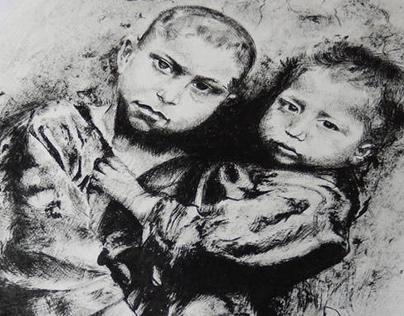 Retratos de Crianças do Êxodo (rereading/ releitura)