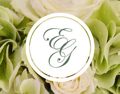 Wedding visual identity // E&G