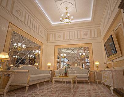 SPA zone in T Residence. Kiev, Ukraine.