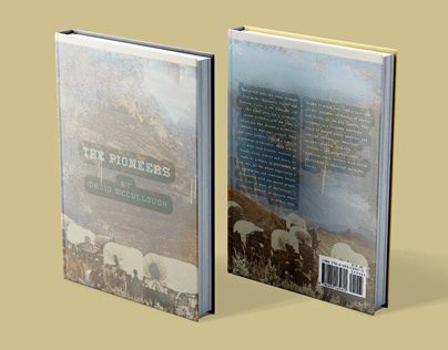 The Pioneers Book Jacket Redesign