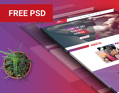 Free GYM Template
