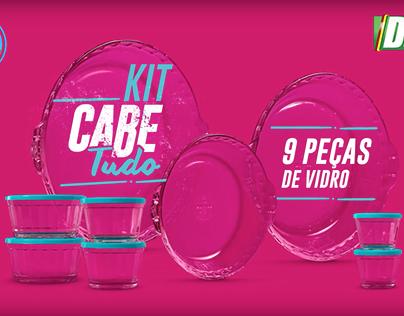 Junte e Ganhe do Diário Gaúcho - KIT CABE TUDO