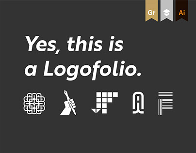 Letterforms, Monograms & Illustrated logos — Logofolio