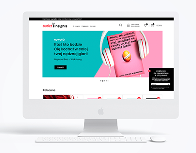 Bookshop web design