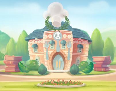 Disney Interactive / Kitchen Scramble - Bgs - C.A