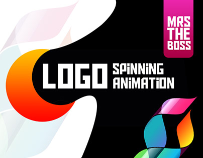 Logo spinning Animation GIF