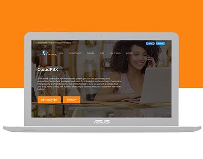 Website Design - UI/UX for Call Centre Services