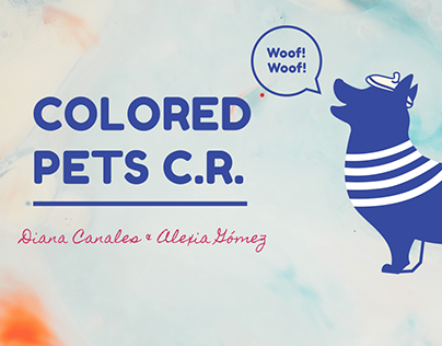 Colored Pets Image for Facebook.
