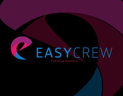 UI/UX design for EASYCREW