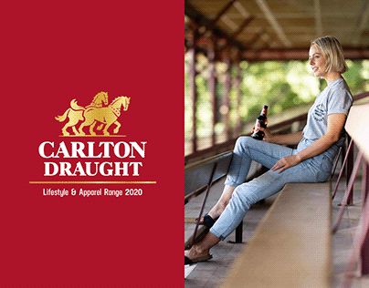Carlton Draught Merch Catalogue