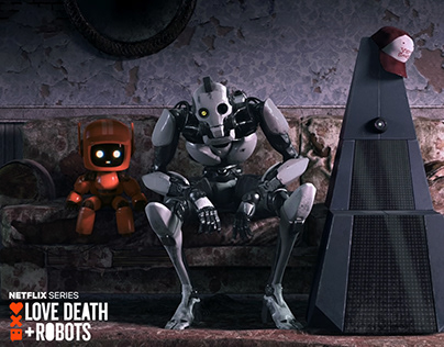 Love Death + Robots Xbot 4000