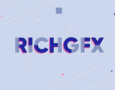 Striped Pattern Style Text Effect in Adobe Illustrator