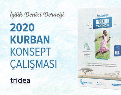 İyilik Denizi Derneği - Kurban 2020 Konsept Çalışması
