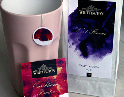 Whittington tea rebranding
