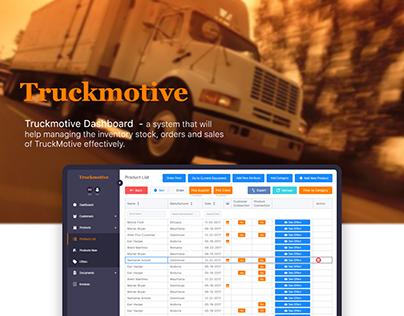 Truckmotive - Dashboard
