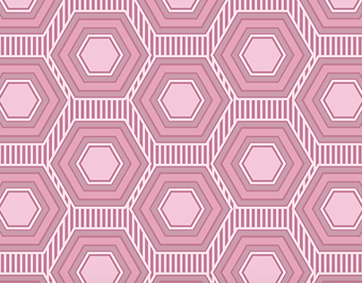 Simple Hexagon Pattern