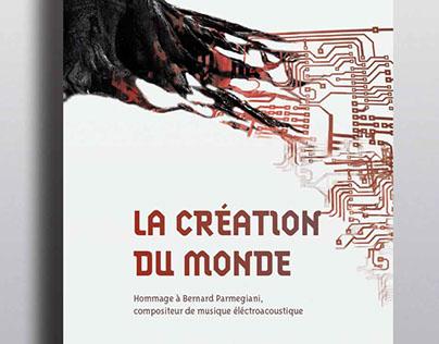 Affiche pour un concert de Bernard Parmegiani