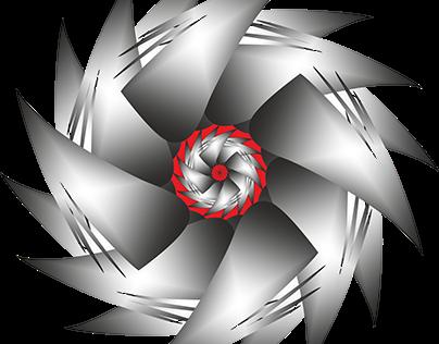 Metalik Çiçek