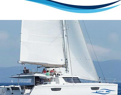 Angelina Yachtcharter l Branding