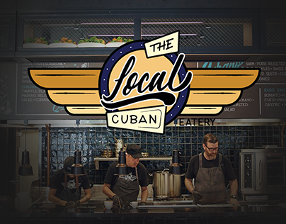 The Local Cuban: Restaurant Moodboard Presentation