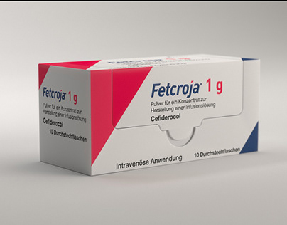 3D package design for new antibiotic