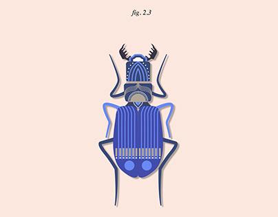 Bichos en vector