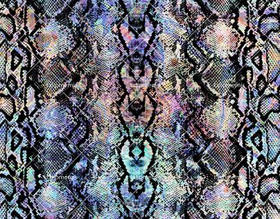 Snake Skin - Seamless Pattern