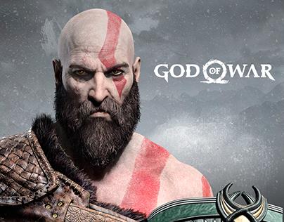 God of War 4 Website Banner