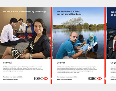 HSBC Global Recruitment Campaign