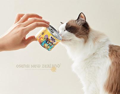 【OSENSI·主粮罐头】宠物食品包装 Pet food packaging