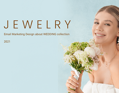 Email Marketing Design about WEDDING collection