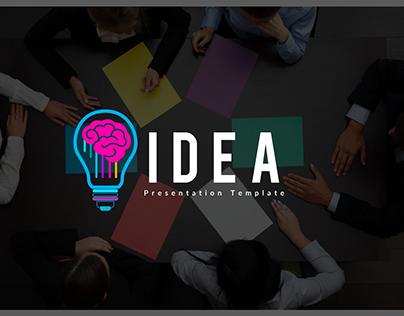 IDEA Powerpoint Presentation Template