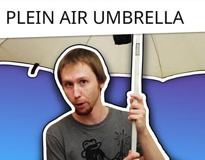 Umbrella for plein air painting and how to choose it