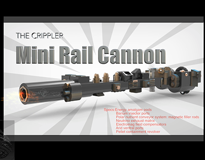 Crippler Mini Rail Cannon overview