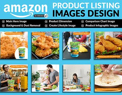 Amazon listing design