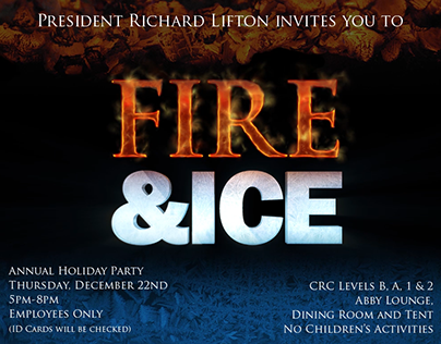Rockefeller Fire and Ice Party