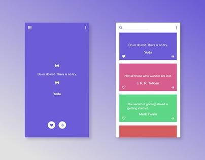 Quote App Concept