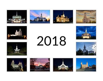 Utah Temples Calendar