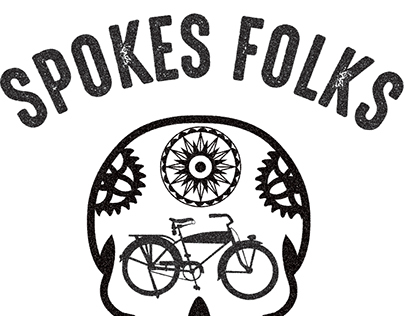 The Spokes Folks Bike Share Company Logo and App