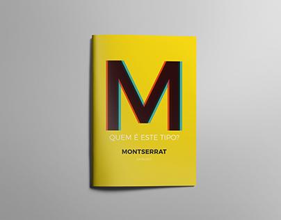 Catálogo Tipográfico Montserrat