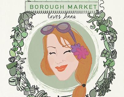 Borough Market loves Anna