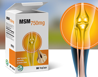 Packaging design for dietary supplement.