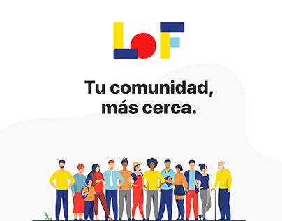 LoF - Tu comunidad, más cerca.