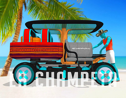 La Champeta. Electric vehicle for islands