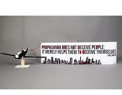 Propaganda in the skies