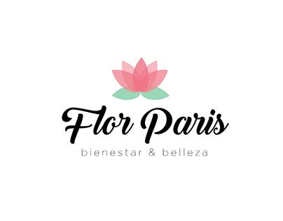 Marca para Flor Paris Bienestar y Belleza