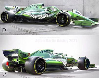 Aston Martin Racing 2021 Concept