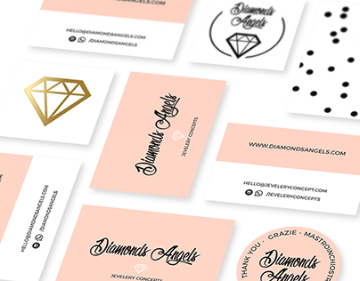 Diamonds Angels - business cards